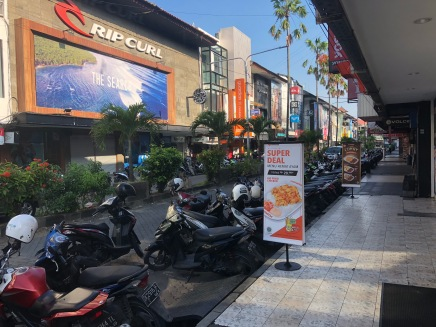 Bali – Day 1 and it's​ so hot!
